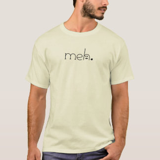 meh. (with its tongue out) MEN T-Shirt