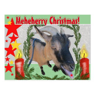 Meheherry Christmas! Postcard