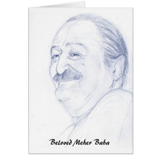 Meher Baba Card