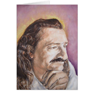 Meher Baba, from a favorite photo of His Card