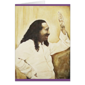 Meher Baba greeting card