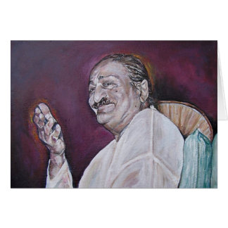 Meher Baba Note Card (blank inside)