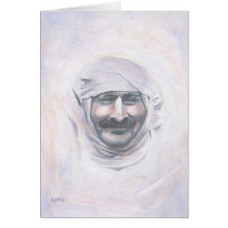 Meher Baba with turban Card