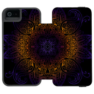 Mehndi Burst Incipio Watson™ iPhone 5 Wallet Case
