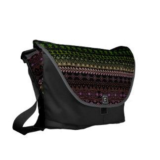 mehndi rainbow pattern commuter bags