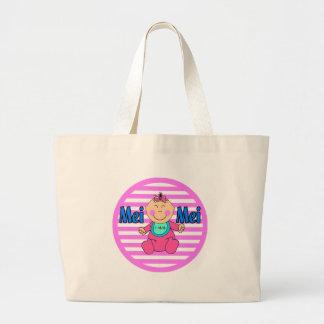 Mei Mei Little Sister Tote Bags