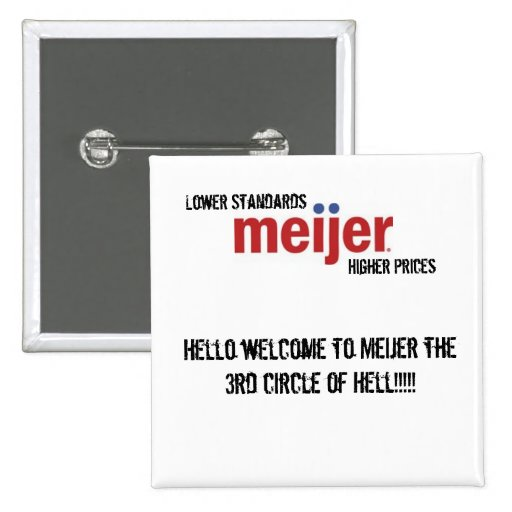 meijer_logo, Hello welcome the Mei... - Customized Pin