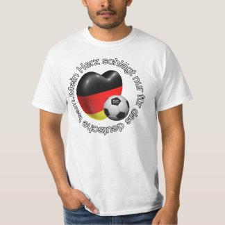 Mein herz schladt nur fur das deutsche team shirts