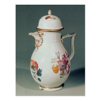Meissen coffee pot, c.1740-50 postcard