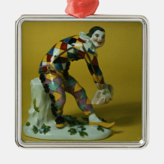 Meissen figure of Harlequin, c.1750 Metal Ornament