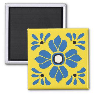 Meixcan Tile 3 Square Magnet