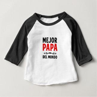 mejor papa delmonico baby T-Shirt