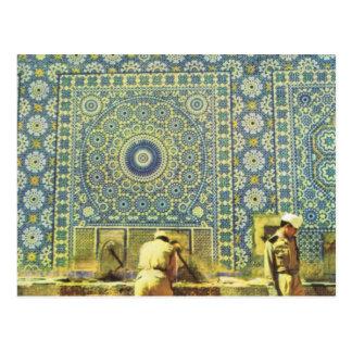 Meknes, Muslim washing place Postcard