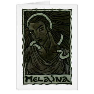 Melaina Greeting Card