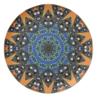Melamine plate Geometric