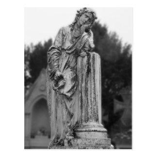 Melancholy Angel Postcard