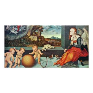 Melancholy By Cranach D Ä Lucas Best Quality Custom Photo Card