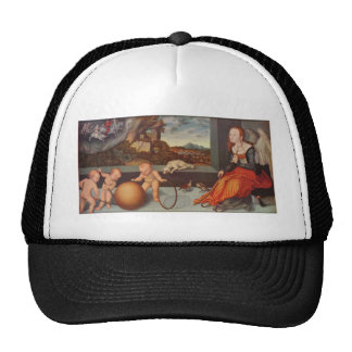 Melancholy by Lucas Cranach the Elder Cap