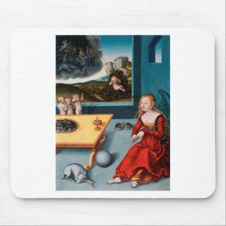 Melancholy by Lucas Cranach the Elder Mouse Pad