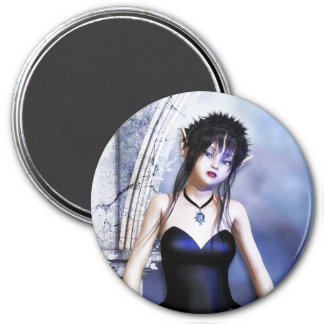 Melancholy Day Dreams Gothic Magnet