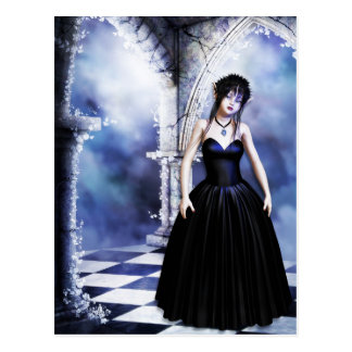 Melancholy Day Dreams Gothic Postcard