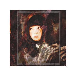 Melancholy Girl Canvas Print