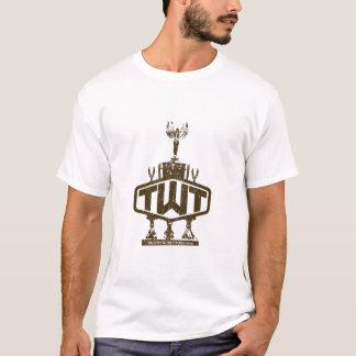 Melange Ringer T-Shirt (TWT Distressed Logo)