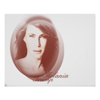 Melania Trump Value Poster Paper (Matte)