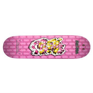 Melanie 02 ~ Custom Graffiti Art Pro Skateboard