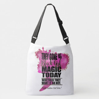 Melanin Barbie Silhouette Crossbody Bag