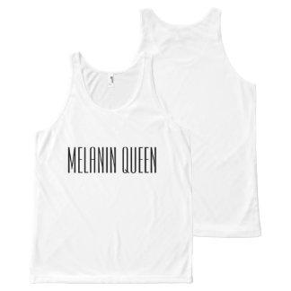 Melanin Queen All-Over Print Singlet