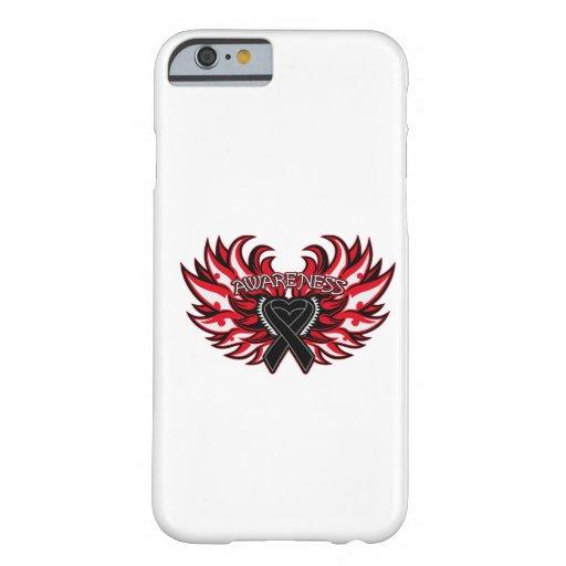 Melanoma Awareness Heart Wings iPhone 6 Case