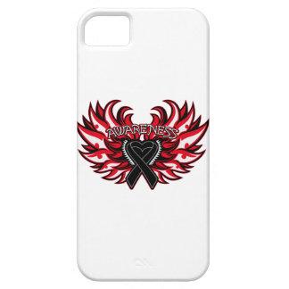 Melanoma Awareness Heart Wings iPhone 5 Cover
