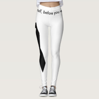 Melanoma Awareness Leggings