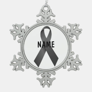 Melanoma Cancer Memorial Ornament