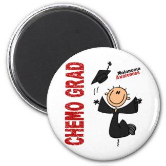 Melanoma CHEMO GRAD 1 Refrigerator Magnet