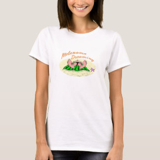 Melanoma Dreaming cartoon T-Shirt