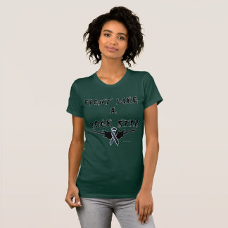Melanoma Rock Star Ladies Jersey T-Shirt