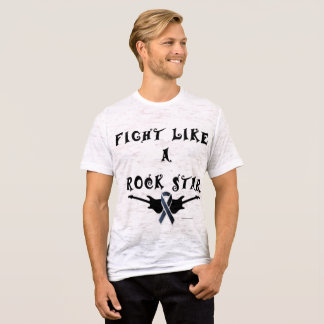 Melanoma Rock Star Men's Burnout T-shirt