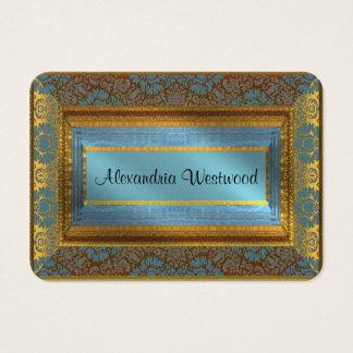 MeLarks Elegant IV Victorian Business Card
