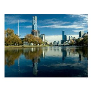Melboure Skyline Postcard