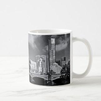 Melbourne Across The Yarra Basic White Mug