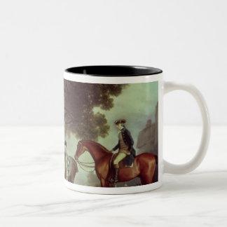 Melbourne and Milbanke Families, Two-Tone Coffee Mug