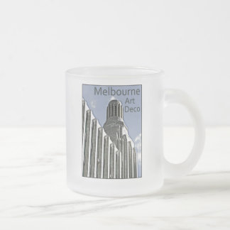 Melbourne Art Deco - Century Building Frosted Glass Coffee Mug