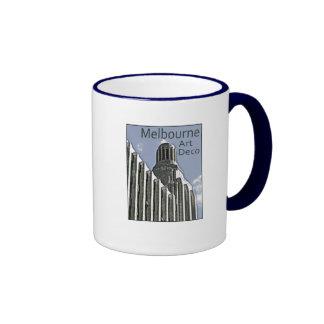 Melbourne Art Deco - Century Building Ringer Mug
