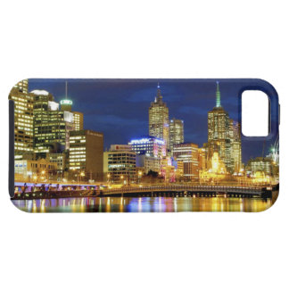 Melbourne, Australia. A nighttime view of the 2 iPhone 5 Case