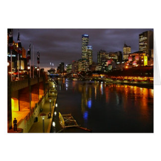 Melbourne Australia Greeting Card
