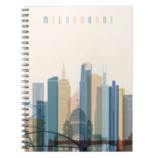 Melbourne, Australia | City Skyline Notebook