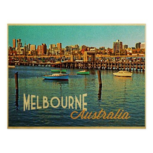Melbourne Australia Post Cards