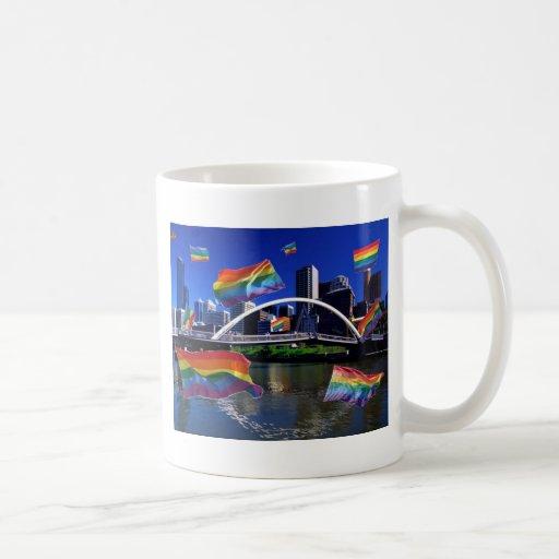 Melbourne, Australia Pride Mugs